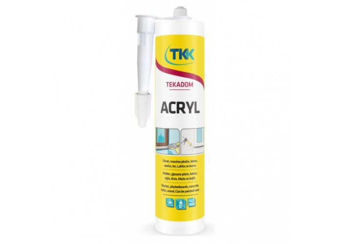 Герметик акриловый Tekadom Acryl ТКК, белый, 280мл