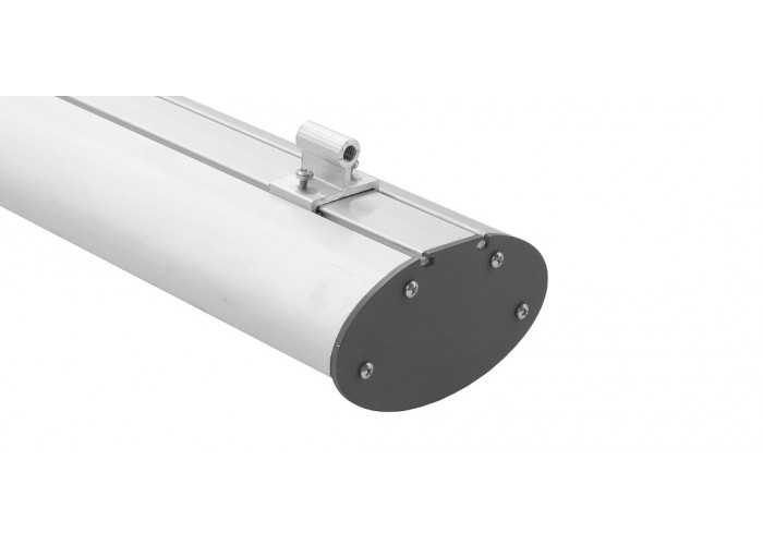 Универсальный светильник ELLIPSE AL (72W, 8280Lm, 3000К/4100K/6500K, матовый рассеиватель, IP65) 1500 мм