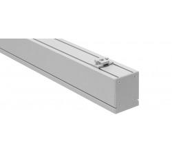 Светодиодный линейный декоративный светильник DECO (18W, 1890Lm, 4100К/6500К, матовый рассеиватель, серебристый корпус) 600мм