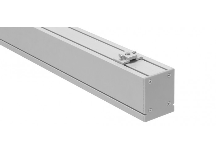 Светодиодный линейный декоративный светильник DECO (54W, 5670Lm, 4100К/6500К, матовый рассеиватель, серебристый корпус) 1500мм