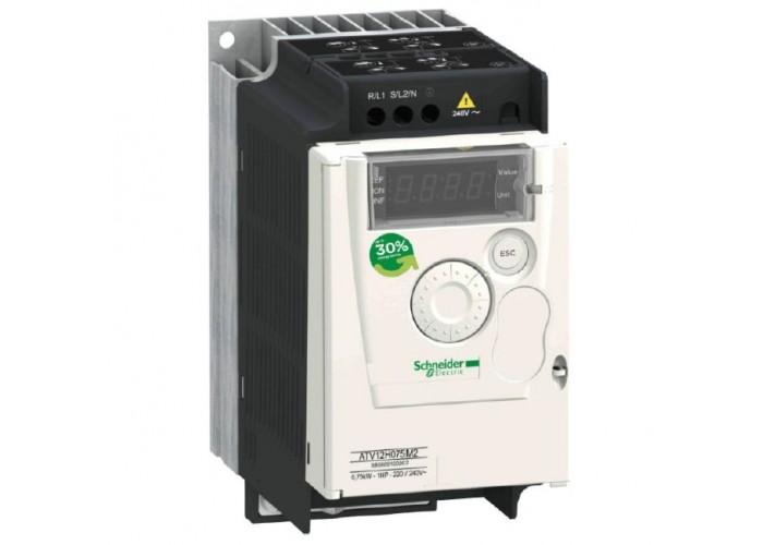 Преобразователь частоты Schneider Electric ATV12 0.55кВт 1-ф/220