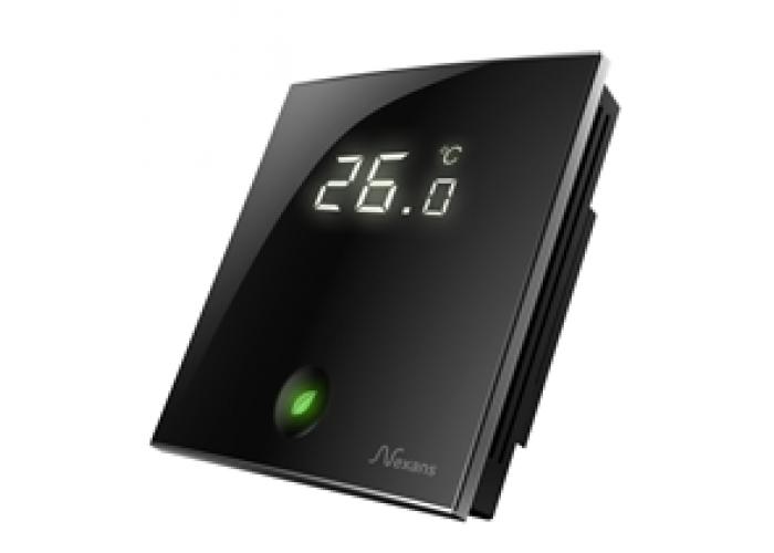 Терморегулятор Nexans Millitemp 2 BREATH містить датчик температури повітря (вбудований) і поставляється з зовнішнім датчиком (монтуєтся в підлогу)