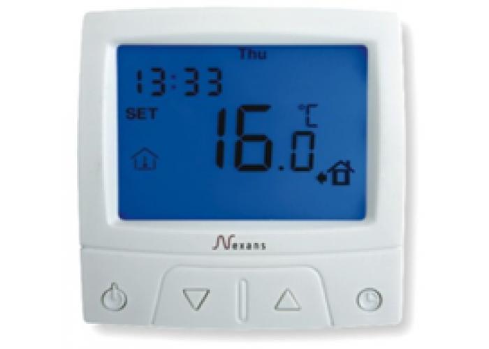 Терморегулятор Nexans MILLITEMP CDFR-003 містить датчик температури повітря (вбудований) і поставляється з зовнішнім датчиком (монтуется в підлогу)