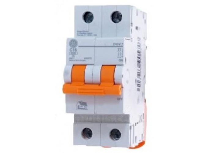 Автоматический выключатель General Electric Domus 6 kA, 20 A, 2p, B