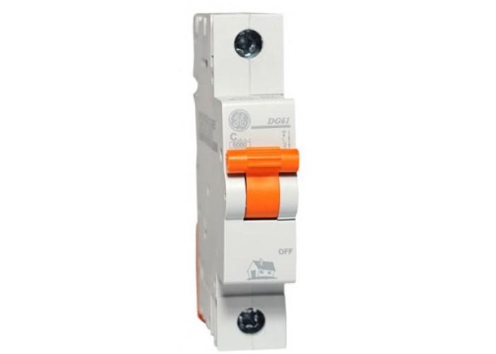 Автоматический выключатель General Electric Domus 6 kA, 63 A, 1p, B