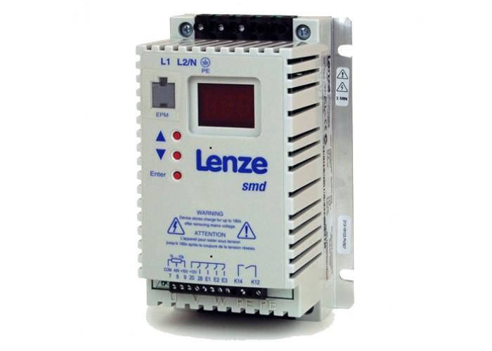 Преобразователь частоты Lenze SMD 0,37 кВт 1-ф/220В