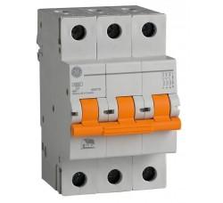 Автоматический выключатель General Electric Domus 6 kA, 10A, 3p, B