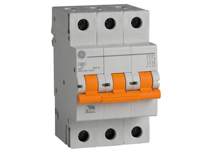 Автоматический выключатель General Electric Domus 6 kA, 20A, 3p, B