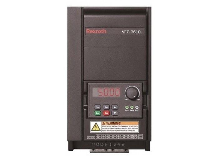 Частотный преобразователь Bosch Rexroth VFC 3610, 0.75 кВт, 1ф/220В